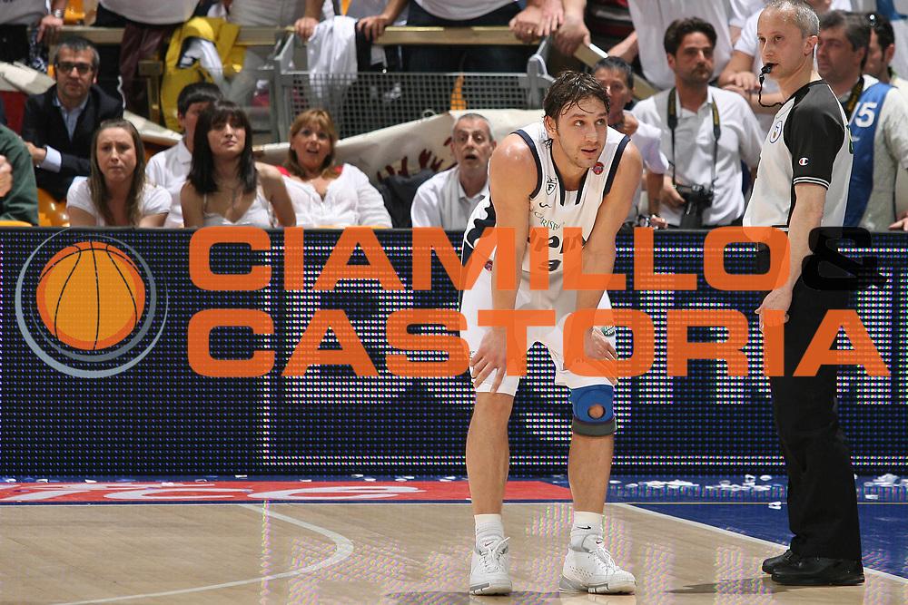 DESCRIZIONE : Bologna Lega A1 2007-08 Playoff Quarti Di Finale Gara 2 Upim Fortitudo Bologna Montepaschi Siena<br /> GIOCATORE : Davide Lamma  <br /> SQUADRA : Upim Fortitudo Bologna<br /> EVENTO : Campionato Lega A1 2007-2008 <br /> GARA : Upim Fortitudo Bologna Montepaschi Siena<br /> DATA : 12/05/2008 <br /> CATEGORIA : Delusione<br /> SPORT : Pallacanestro <br /> AUTORE : Agenzia Ciamillo-Castoria/M.Marchi
