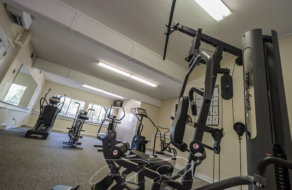 Fitness center at Autumn Woods Apartments in Mobile Alabama ...