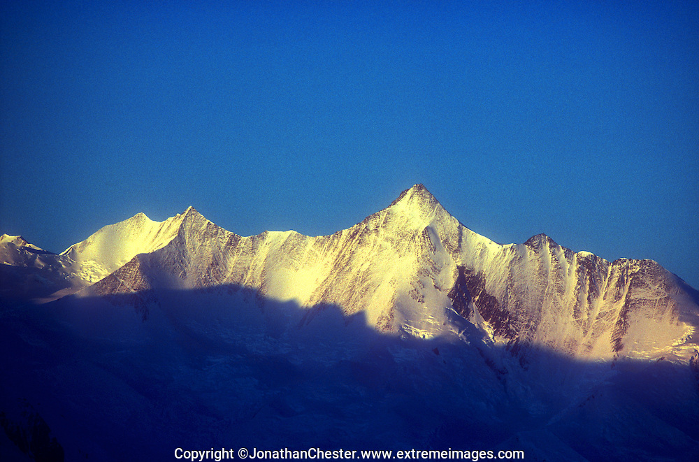 Mt Herschel 3,335m Admiralty Mountains, Victorian Land, Antarctica.  Discovered by Sir James Clark Ross in 1841. Named for English Astronomer, Sir John Herschel.