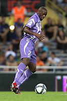 FOOTBALL - FRENCH CHAMPIONSHIP 2010/2011 - L1 - TOULOUSE FC v STADE BRESTOIS - 07/08/2010 - PHOTO ERIC BRETAGNON / DPPI - MOHAMED FOFANA (TFC)