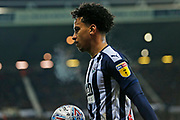 Matheus Pereira in action during the EFL Sky Bet Championship match between West Bromwich Albion and Stoke City at The Hawthorns, West Bromwich, England on 20 January 2020.