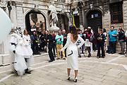 LINA CONDES, DANIEL LISMORE - LINA CONDES, EXTRATERRESTRIAL ODYSSEY  with special participation by Daniel Lismore, Palazzo Pisani, Conservatorio di Musica Benedetto Marcello, near Accademia bridge, Venice Biennale,  Venice, Friday 12  May 2017
