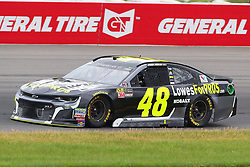 June 3, 2018 - Long Pond, PA, U.S. - LONG POND, PA - JUNE 03:  Jimmie Johnson (48) in the Lowe's for Pros Chevrolet drives during the Monster Energy NASCAR Cup Series - Pocono 400 on June 3, 2018 at Pocono Raceway in Long Pond, PA.  (Photo by Rich Graessle/Icon Sportswire) (Credit Image: © Rich Graessle/Icon SMI via ZUMA Press)