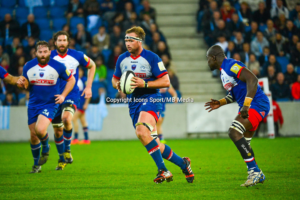 Hendrik ROODT - 07.03.2015 -  Racing Metro / Grenoble  -  19eme journee de Top 14<br />