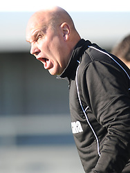 Richard Hill Manager Eastleigh, Barnet v Eastleigh, Vanarama Conference, Saturday 4th October 2014