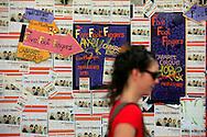 19/08/11 - AURILLAC - CANTAL - FRANCE - 26e Festival de Theatre de rue d Aurillac. ECLAT 2011 - Photo Jerome CHABANNE