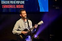 Emmanuel Moire<br /> Cherie FM - Concert Prive Pop Love au Hard Rock Cafe, Lyon