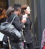 Nigella Lawson make up free leaving Hair salon
