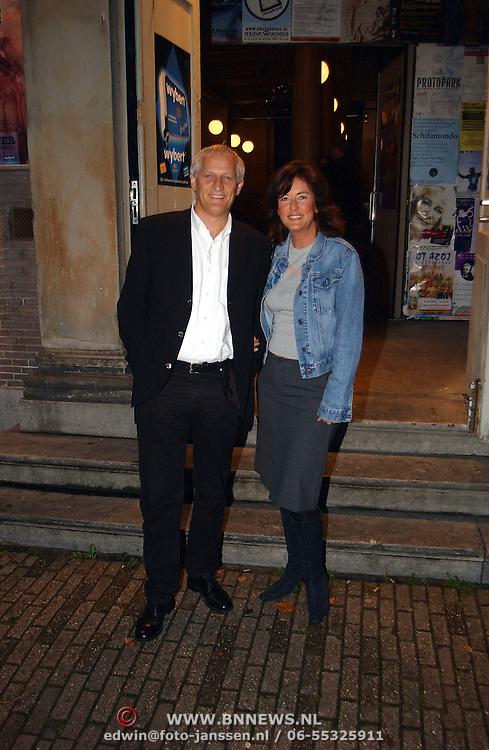 Premiere Requim voor een zwaar gewicht, Wilbert Gieske en vriendin Roxanne Catz