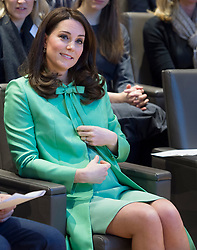 The Duchess of Cambridge attends a symposium on the importance of early intervention to provide solid social and emotional platforms for children in their early years, at The Royal Society of Medicine, London, UK, on the 21st March 2018. Picture by Geoff Pugh/WPA-Pool. 21 Mar 2018 Pictured: Catherine, Duchess of Cambridge, Kate Middleton. Photo credit: MEGA TheMegaAgency.com +1 888 505 6342