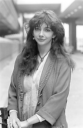 PA NEWS PHOTO 10/3/78  KATE BUSH AT LONDON'S HEATHROW AIRPORT ON ARRIVAL FROM AMSTERDAM, HOLLAND