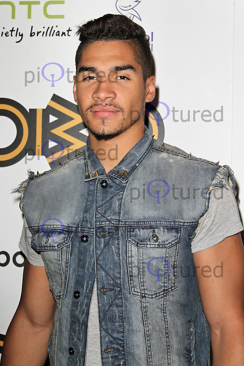 LONDON - SEPTEMBER 17: Louis Smith attended the Nominations Launch of the MOBO Awards at Floridita London, UK. September 17, 2012. (Photo by Richard Goldschmidt)