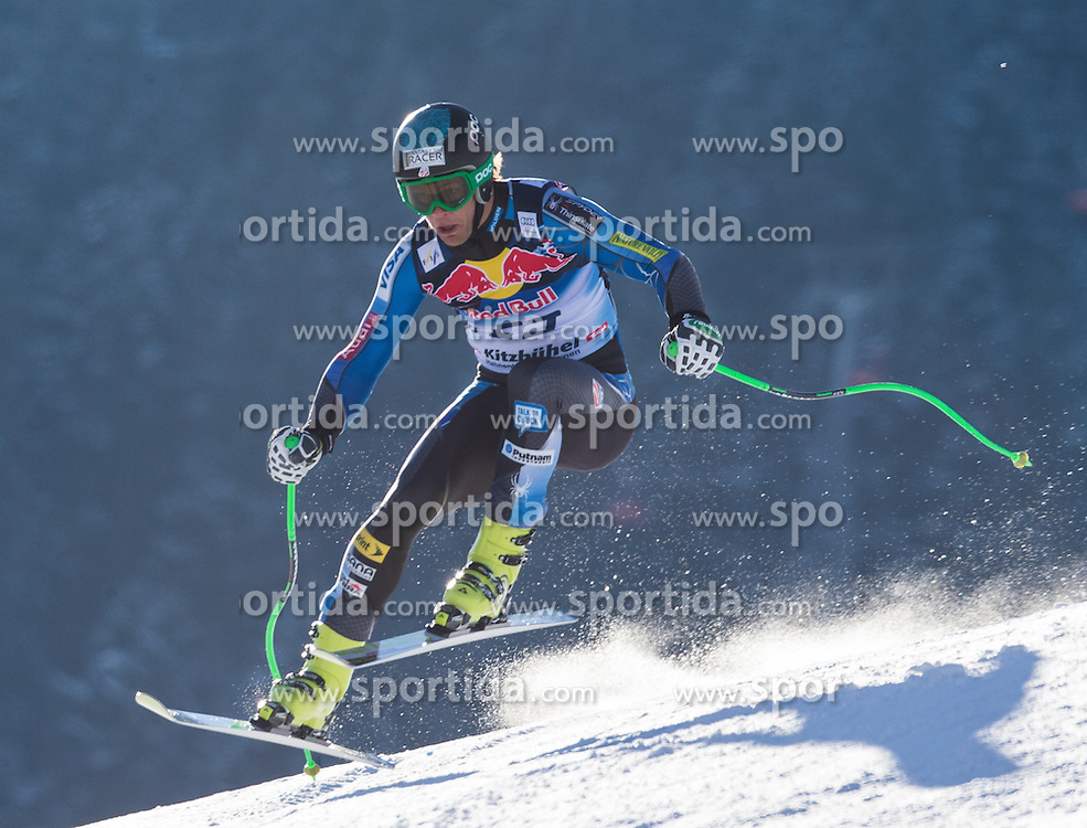 23.01.2013, Streif, Kitzbuehel, AUT, FIS Weltcup Ski Alpin, Abfahrt, Herren, 2. Training, im Bild Steven Nyman (USA) // Steven Nyman of the USA in action during 2nd practice of mens Downhill of the FIS Ski Alpine World Cup at the Streif course, Kitzbuehel, Austria on 2013/01/23. EXPA Pictures © 2013, PhotoCredit: EXPA/ Johann Groder