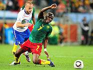 24 June Cameroon v The Netherlands