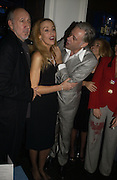 PETE TOWNSHEND, Jerry Hall, Bob Geldof, . First night party for High Society. Shanghai Blues. High Holborn.  October 10 2005. ONE TIME USE ONLY - DO NOT ARCHIVE © Copyright Photograph by Dafydd Jones 66 Stockwell Park Rd. London SW9 0DA Tel 020 7733 0108 www.dafjones.com