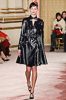 Ava Smith walks down runway for F2012 Thakoon's collection in Mercedes Benz fashion week in New York on Feb 10, 2012 NYC