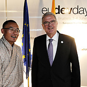 20150604- Brussels - Belgium - 04 June2015 - European Development Days - EDD  - Tshering Tobgay PM of Buthan and Neven Mimica Defco  © EU/UE