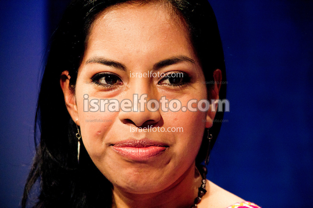 Magdalena Flores es una abogada que defiende a los indígenas que están en las cárceles del Distrito Federal (México).