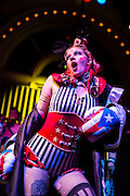 MarchFourth Marching Band's 12th Anniversary Show at the Crystal Ballroom March 4, 2015 in Portland, OR.