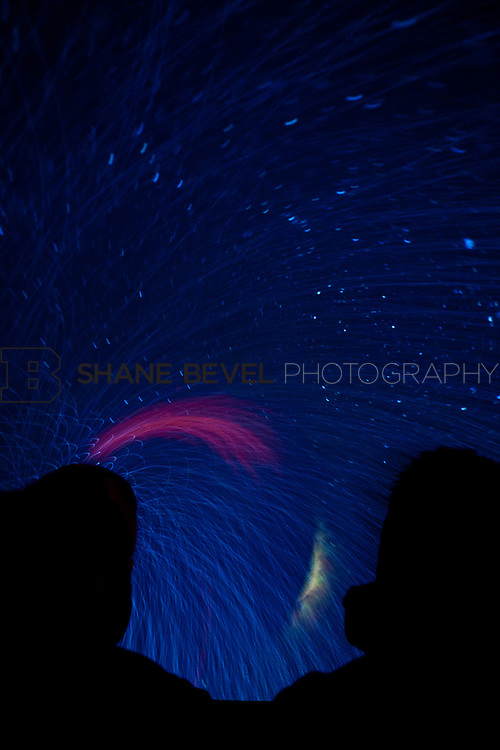 11/1/11 3:29:01 PM -- Tulsa Air and Space Museum. Long exposures of the planetarium. <br /> <br /> Photo by Shane Bevel