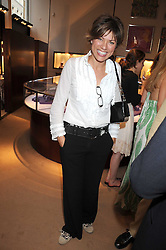 KATE SILVERTON at a party to celebrate the publication of Sashenka by Simon Sebag-Montefiore held at Asprey, Bond Street, London on 1st July 2008.<br />