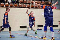 31-03-2018 NED: Finale D Volleybaldirect Open, Beverwijk<br /> 16 teams van meisjes en jongens D streden om het Nederlands Kampioenschap / Avior
