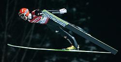 01.02.2011, Vogtland Arena, Klingenthal, GER, FIS Ski Jumping Worldcup, Team Tour, Klingenthal, im Bild Michael Uhrmann, GER, während der Qualifikation // during the FIS Ski Jumping Worldcup, Team Tour in Klingenthal, Germany 1/2/2011. EXPA Pictures © 2011, PhotoCredit: EXPA/ Jensen Images/ Ingo Jensen +++++ ATTENTION +++++ GERMANY OUT!