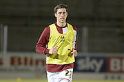 Northampton Town Defender Luke Prosser during the Sky Bet League 2 match between Northampton Town and AFC Wimbledon at Sixfields Stadium, Northampton, England on 1 March 2016. Photo by Dennis Goodwin.