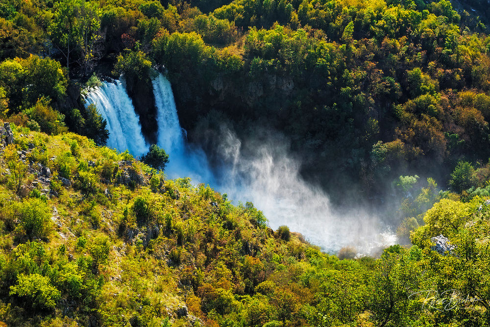 Manojlovac waterfall, Krka National Park, Dalmatia, Croatia