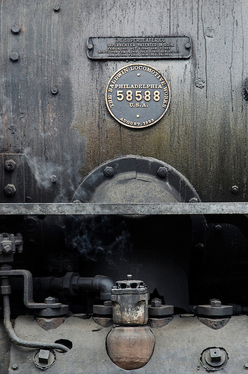 Engine 487 — Made in Philadelphia, PA, this locomotive dates back to 1925.