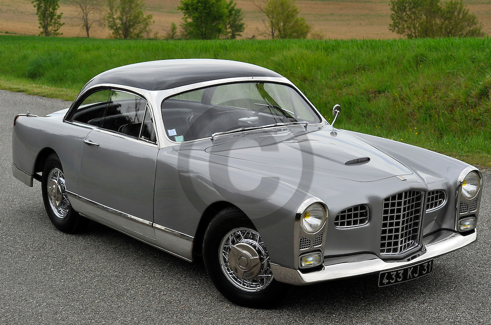 27/04/12 - MONTEGUT LAURAGAIS - HAUTE GARONNE - FRANCE - Essais FACEL VEGA Type FV de 1955 - Photo Jerome CHABANNE