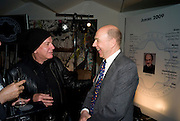 NICKY HASLAM; ANTHONY D'OFFAY, The Presentation of the Montblanc de la Culture Arts Patronage Award to Anthony D'Offay. Tate Modern. 16 April 2009