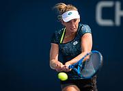 Elise Mertens of Belgium practices at the 2018 US Open Grand Slam tennis tournament, New York, USA, August 26th 2018, Photo Rob Prange / SpainProSportsImages / DPPI / ProSportsImages / DPPI