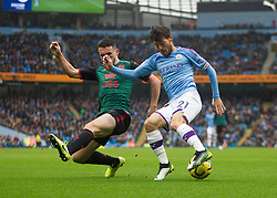 David Silva of Manchester City (R) in action - Mandatory by-line: Jack Phillips/JMP - 26/10/2019 - FOOTBALL - Etihad Stadium - Manchester, England - Manchester City v Aston Villa - English Premier League