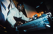 DJ at Metalheadz, London, 1998