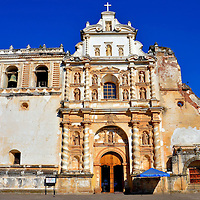 San Francisco el Grande Church in Antigua, Guatemala<br />
