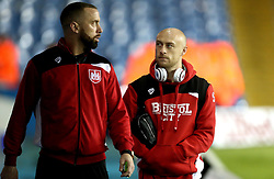 Aaron Wilbraham and David Cotterill of Bristol City arrive at Elland Road for the Sky Bet Championship game against Leeds United - Mandatory by-line: Robbie Stephenson/JMP - 14/02/2017 - FOOTBALL - Elland Road - Leeds, England - Leeds United v Bristol City - Sky Bet Championship