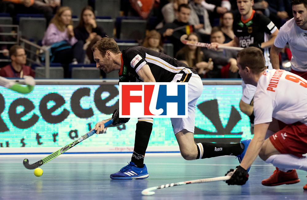 BERLIN - Indoor Hockey World Cup<br /> Men: Poland - Germany<br /> foto: Fabian Pehlke.<br /> WORLDSPORTPICS COPYRIGHT FRANK UIJLENBROEK