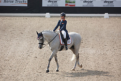 Quint Laura, (NED), Velazquez<br /> Roelofsen Horse Trucks Prijs - Juniors Team Test<br /> Dutch Championship Dressage - Ermelo 2015<br /> © Hippo Foto - Dirk Caremans<br /> 17/07/15
