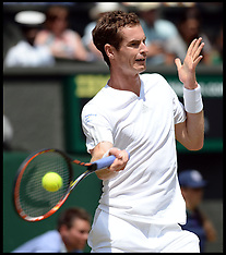 JUL 02 2014 Andy Murray  v Grigor Dimitrov Wimbledon