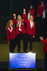 The 2017 SkillsUSA National Leadership and Skills Conference Competition Medalists were announced Friday, June 23, 2017 at Freedom Hall in Louisville. <br /> <br /> Digital Cinema Production<br /> <br /> Team V (consisting of Matt Davis, Samantha Pichler)<br />   High School Bollman Technical Education Center<br />   Gold Thornton, CO<br /> Digital Cinema ProductionTeam L (consisting of Sarah W Gill, Ramey W Tyler)<br />   High School Har-Ber High School<br />   Silver Springdale, AR<br /> Digital Cinema ProductionTeam U (consisting of Max Zabell, Chris J Sessions)<br />   High School Vancouver School of Arts and Academics<br />   Bronze Vancouver, WA<br /> Digital Cinema ProductionTeam C (consisting of Jeremy Howell, Robert Marrocco)<br />   College Macomb Community College<br />   Gold Warren, MI<br /> Digital Cinema ProductionTeam E (consisting of Mark Draper, Katie Powell)<br />   College Dixie Applied Technology College<br />   Silver Saint George, UT<br /> Digital Cinema ProductionTeam H (consisting of Reva Strunk, Abigale Cherney)<br />   College South Central College-Mankato<br />   Bronze North Mankato, MN