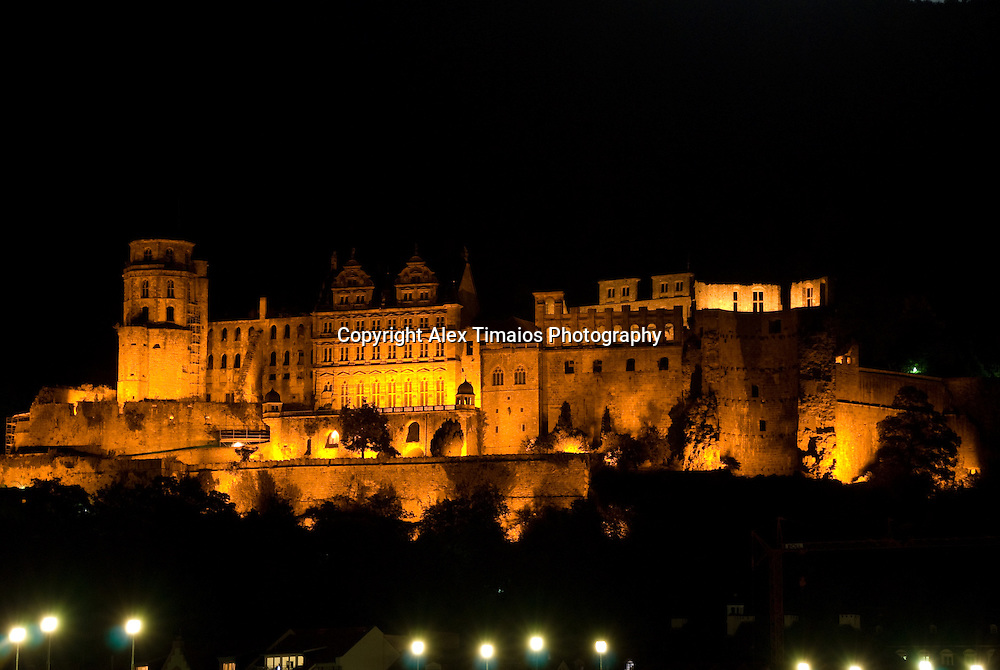The Heidelberg red castle