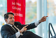Dean's Leadership Series event with Anthony Scaramucci co-host of Wall Street Week held in the Forum in the Martire Business and Communications Center, Sacred Heart University, Fairfield, CT. Thursday, October 20, 2016.