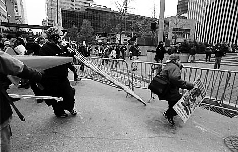 The Transatlantic Business Dialogue (TABD) and N16, the movement opposed to it, simultaneously placed in Cincinnati the largest concentration of economic power and the most boisterous organized street demonstrations the city has ever seen. 2000