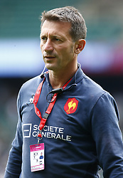May 26, 2019 - Twickenham, England, United Kingdom - Jerome Daret Head Coach of France.during The HSBC World Rugby Sevens Series 2019 London 7s Bronze Final Match 44 between France and USA at Twickenham on 26 May 2019. (Credit Image: © Action Foto Sport/NurPhoto via ZUMA Press)