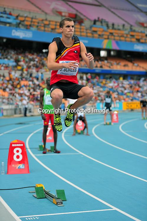 Jonathan Borlee (BEL),..AUGUST 28, 2011 - Athletics :The 13th IAAF World Championships in Athletics - Daegu 2011, Men's 400m Round 1 at the Daegu Stadium, Daegu, South Korea. (Photo by Jun Tsukida/AFLO SPORT) [0003]