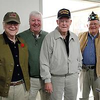 Thomas Wells | BUY AT PHOTOS.DJOURNAL.COM<br /> Joe Kilgo, from left, Darrell Rankin, Bill Tallant and Jerry Seamon