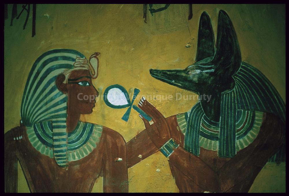 ankhs , Tombe de la vallee des Rois, Egypte