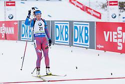 Olga Podchufarova (RUS) during Women 12.5 km Mass Start at day 4 of IBU Biathlon World Cup 2015/16 Pokljuka, on December 20, 2015 in Rudno polje, Pokljuka, Slovenia. Photo by Urban Urbanc / Sportida