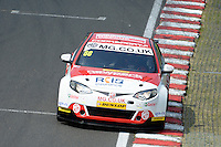 #66 Josh Cook GBR MG Racing RCIB Insurance MG6GT  during qualifiying for the BTCC Oulton Park 4th-5th June 2016 at Oulton Park, Little Budworth, Cheshire, United Kingdom. June 04 2016. World Copyright Peter Taylor/PSP.